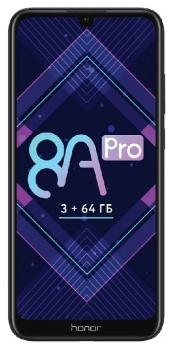 Смартфон Honor 8A Pro 3/64Gb Black (Черный)
