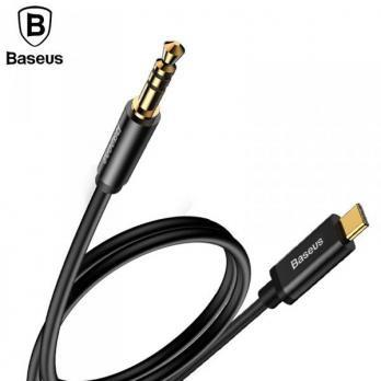 Кабель Baseus Yiven Type-C male Audio Cable M01 120cm Black