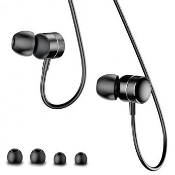 Наушники Baseus Encok Wire Earphone H04 Черный