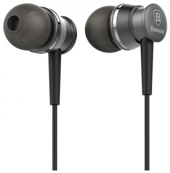 Наушники Baseus Lark Series Wired Earphone EL-01 Черный