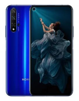 Смартфон Honor 20 6/128GB Голубой сапфир
