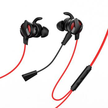 Наушники Baseus GAMO Type-C Wired Earphone C15 - красные