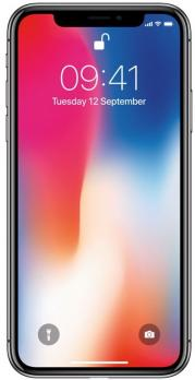 Смартфон Apple iPhone X 64GB (Серый космос)