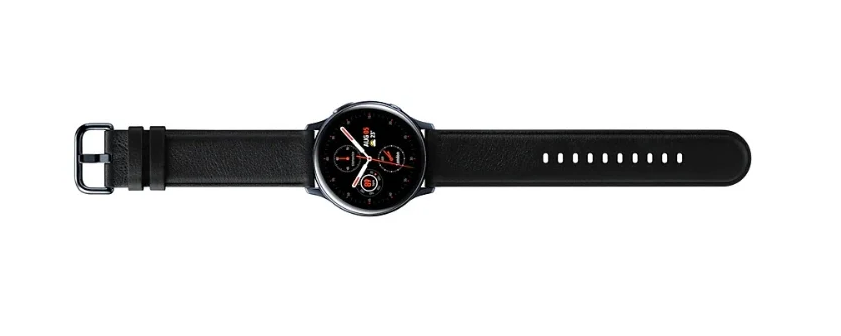 Часы Samsung Galaxy Watch Active2 cталь 40 мм Черный