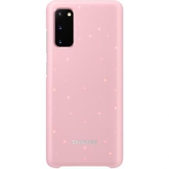 Чехол Samsung S20+ SMART LED COVER Original, Pink