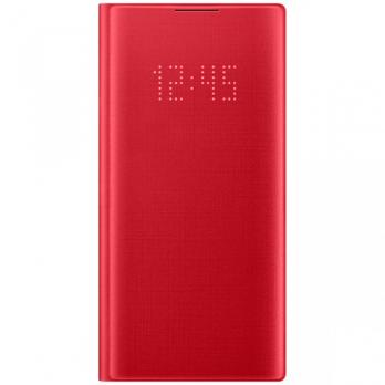 Чехол Samsung Note 10 LED VIEW COVER Original, Red
