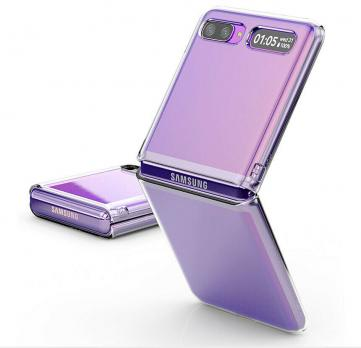 Чехол Samsung Z Flip CLEAR COVER Original,