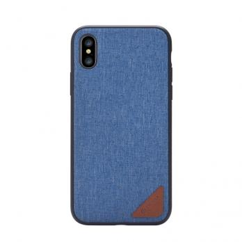 Накладка Devia Acme case для Iphone X,Blue