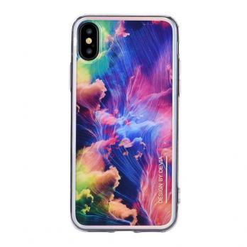 Накладка Devia Landscape Case для Iphone X/XS ,Gold