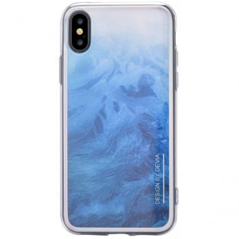 Накладка Devia Landscape Case для Iphone X/XS ,Blue