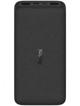 Аккумулятор Xiaomi Redmi Power Bank Fast Charge 20000Mah 18W(PB200LZM),Black