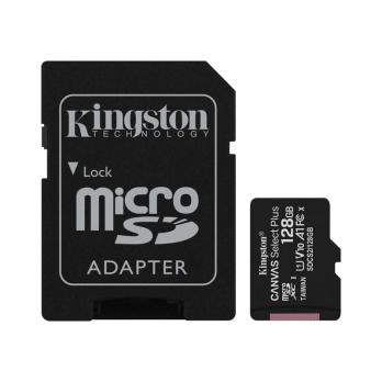 Карта памяти Kingston Canvas Select  Micro( SDCS/128GB)