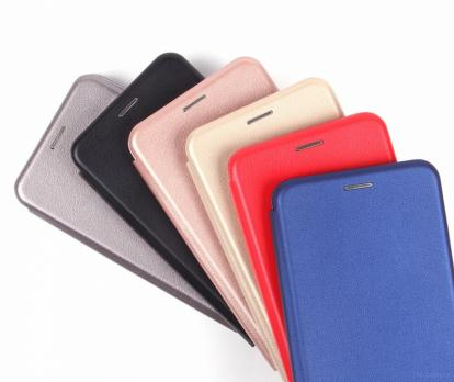 Чехол-книжка Fashion Case Samsung Galaxy A50,Золотая