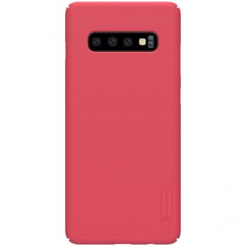 Накладка Nillkin Frosted Shield пластиковая для Samsung Galaxy S10 Plus SM-G975, Red (красная)