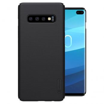 Накладка Nillkin Frosted Shield пластиковая для Samsung Galaxy S10 Plus SM-G975,Black(черная)