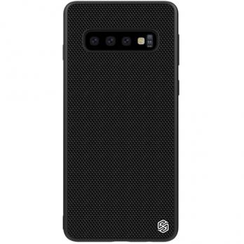 Накладка Nillkin Textured Nylon Case для Samsung Galaxy S10,Black (черный нейлон)