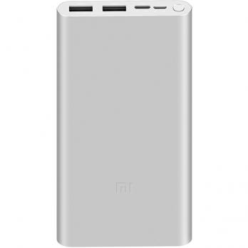 Аккумулятор Xiaomi Mi Power Bank 3 10000 mAh( PLM13ZM),Silver