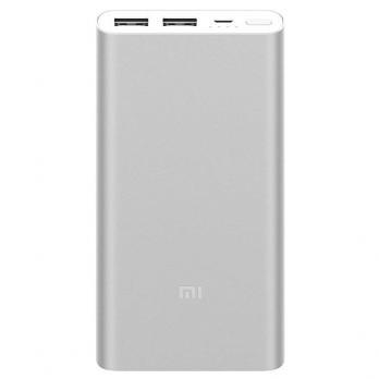 Аккумулятор Xiaomi Mi Power Bank 2 (2i) 10000mah(PLM09ZM),Silver
