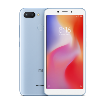 Смартфон Xiaomi Redmi 6 4/64Gb Голубой Global Version