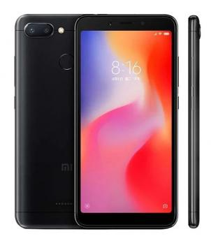 Смартфон Xiaomi Redmi 6 4/64Gb Чёрный Global Version