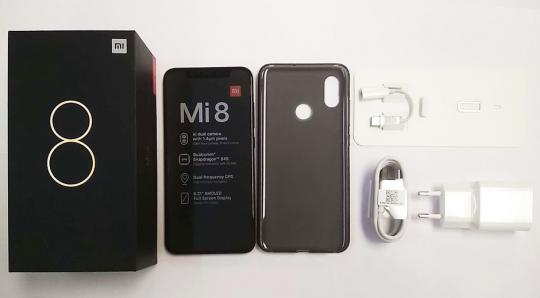 Смартфон Xiaomi Mi8 6/128GB Blue Global Version