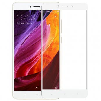 2D Стекло Xiaomi Redmi Note 4 Белое