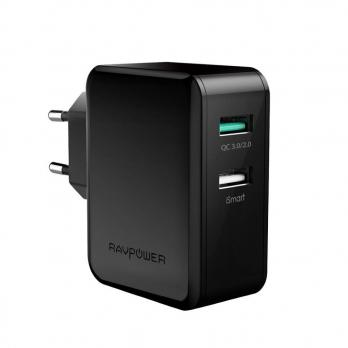 СЗУ Anker RavPower 30W Quick Charge 3.0 black RP-PC006