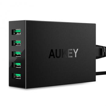 СЗУ Aukey 5-Port USB Charging PA-U33 черный