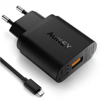 СЗУ Aukey Quick Charge 3.0 PA-T9 Black